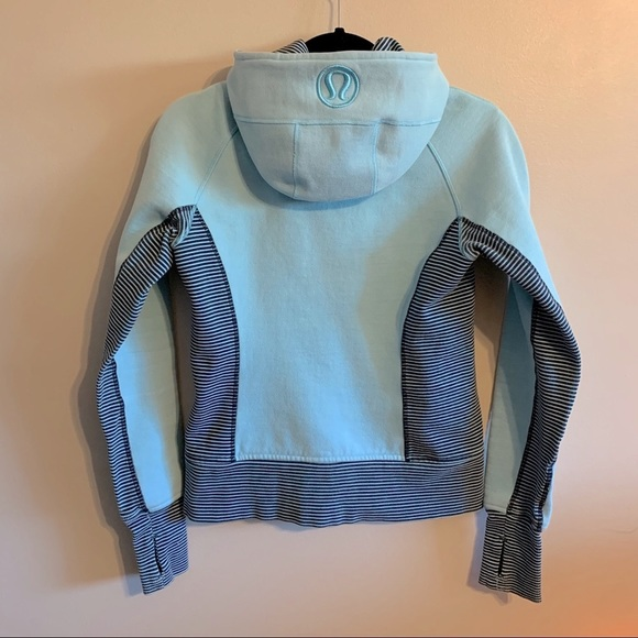 Lululemon RARE baby blue hoodie